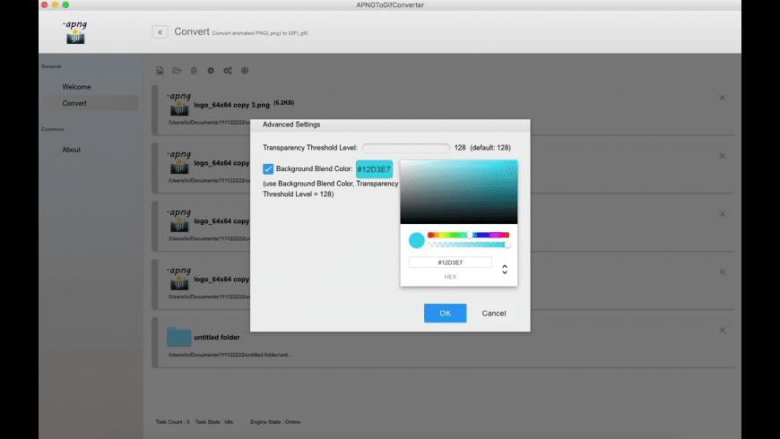 APNGToGifConverter for Mac - review, screenshots