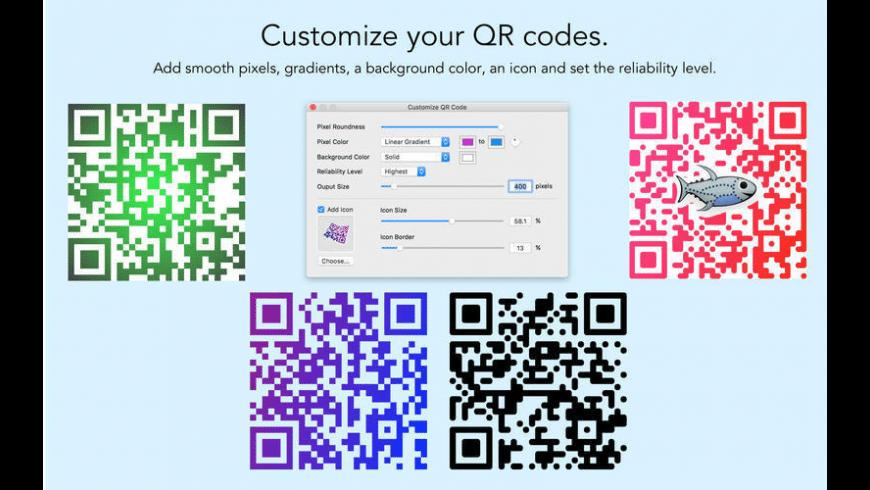 QR Factory for Mac - review, screenshots