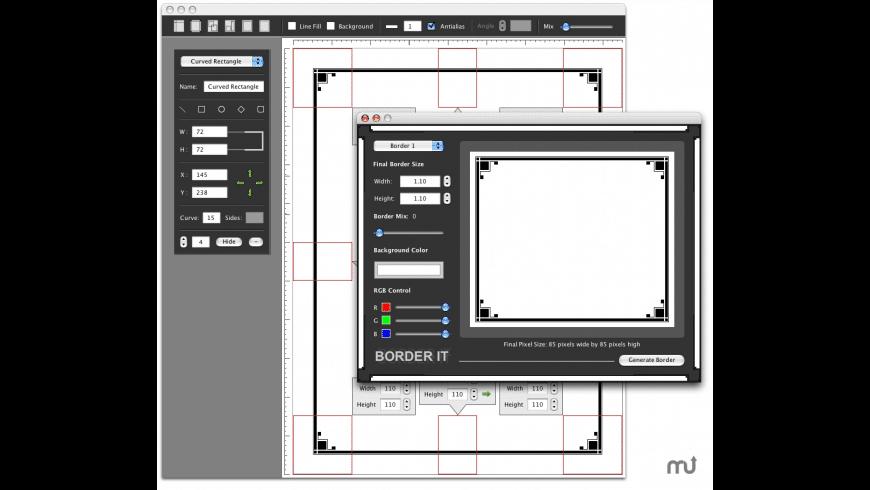 Border It for Mac - review, screenshots