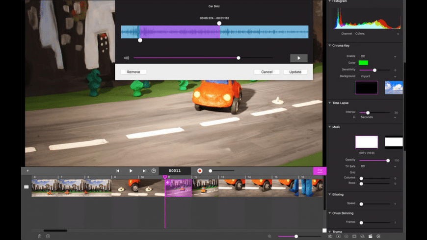 Stop Motion Studio Pro for Mac - review, screenshots