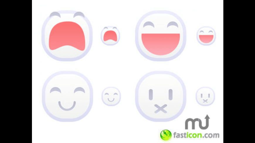 White Emoticons for Mac - review, screenshots