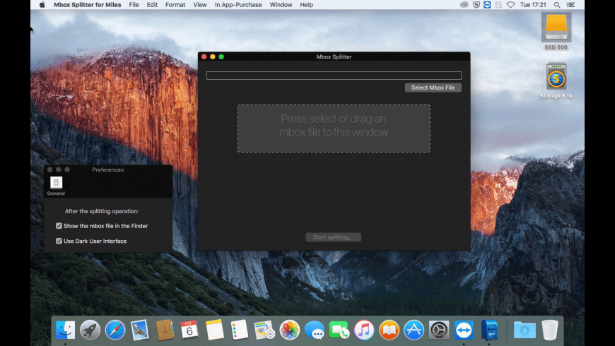 Mbox Splitter for Mac - review, screenshots