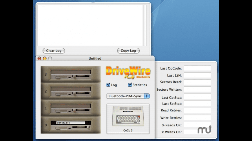 DriveWire MacServer for Mac - review, screenshots