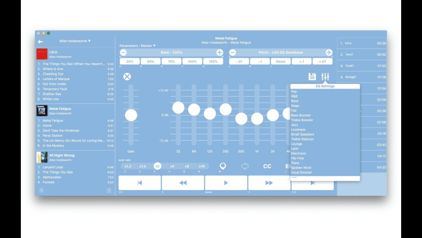 Finetunes for Mac - review, screenshots