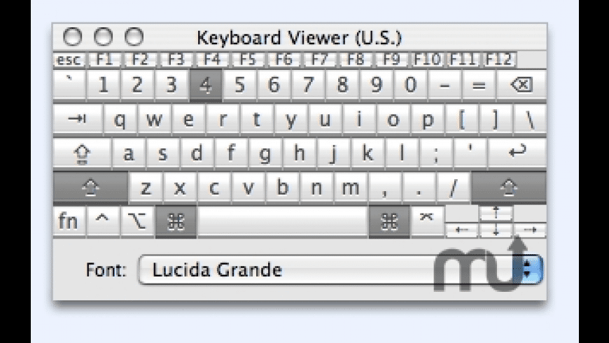 Key Viewer for Mac - review, screenshots