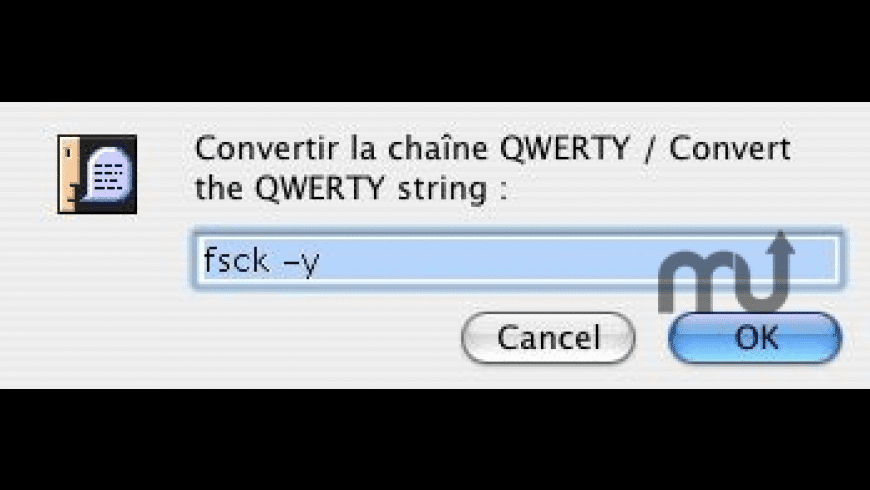 Qwerty2Azerty for Mac - review, screenshots