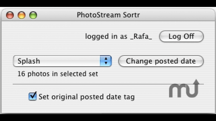 PhotoStream Sortr for Mac - review, screenshots