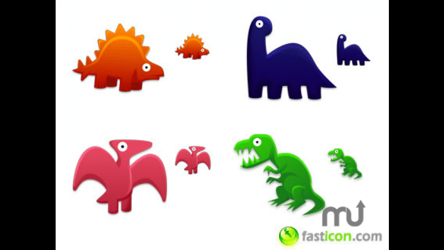 Dinosaurs Toys Icons for Mac - review, screenshots