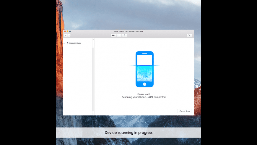 Stellar Phoenix Data Recovery for iPhone for Mac - review, screenshots