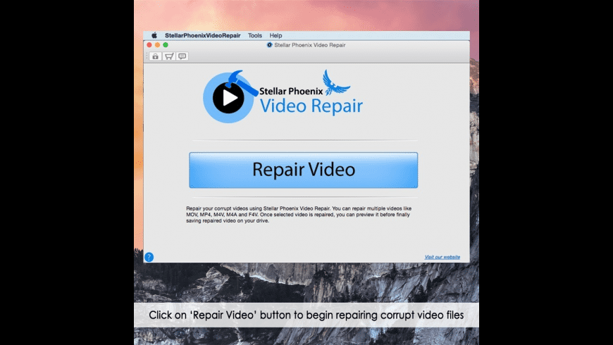 Stellar Phoenix Video Repair for Mac - review, screenshots