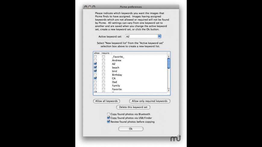 Picme for Mac - review, screenshots