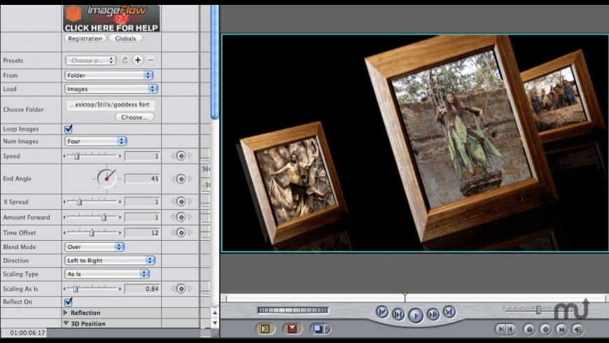 ImageFlow Fx for Mac - review, screenshots