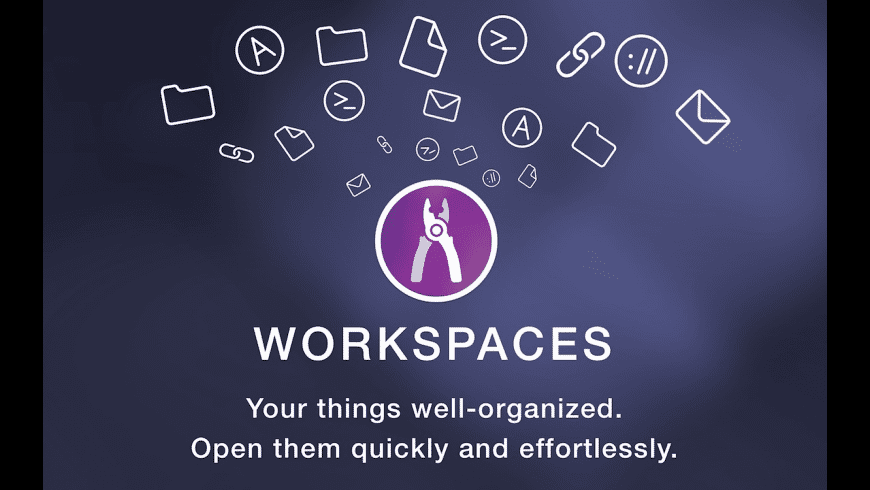 Workspaces for Mac - review, screenshots