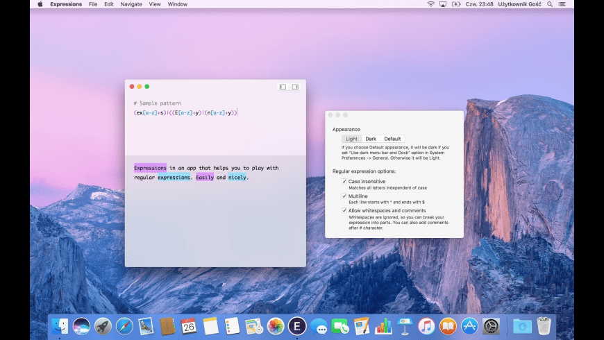 Expressions for Mac - review, screenshots