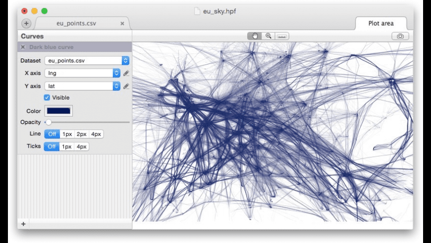 Thunderplot for Mac - review, screenshots