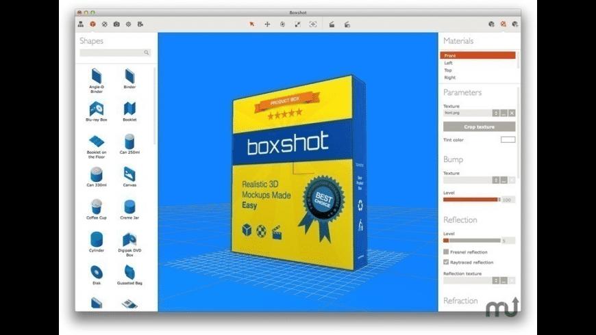 Boxshot Home for Mac - review, screenshots