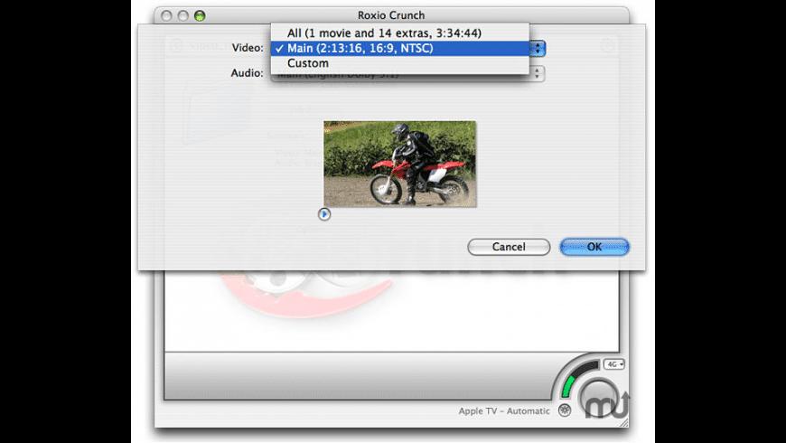 Roxio Crunch for Mac - review, screenshots