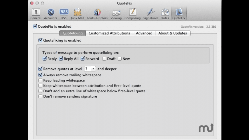 QuoteFix for Mac - review, screenshots