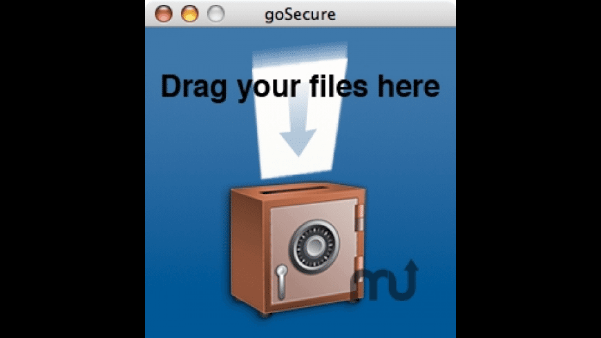 goSecure for Mac - review, screenshots