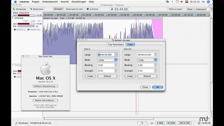 Traverso for Mac - review, screenshots