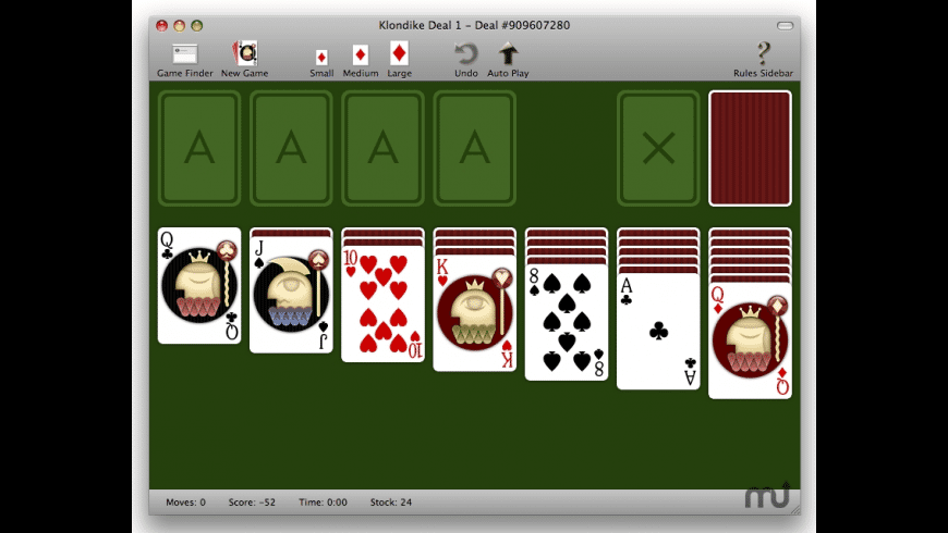 Sol Basics Solitaire for Mac - review, screenshots