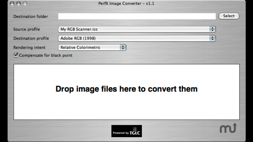 PerfX Image Converter for Mac - review, screenshots
