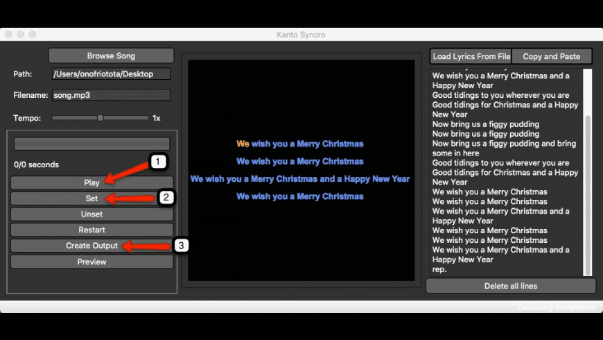 Kanto Syncro Karaoke for Mac for Mac - review, screenshots
