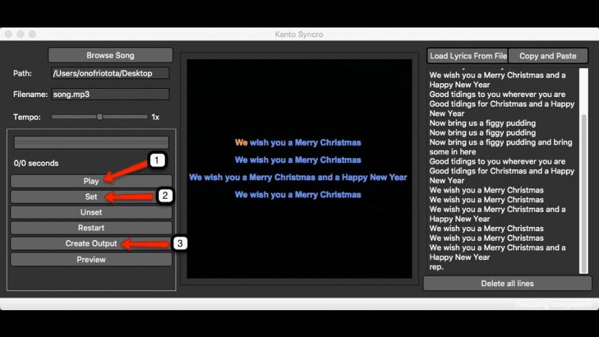 Kanto Syncro Karaoke for Mac for Mac - review, screenshots