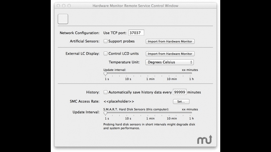 Hardware Monitor Remote for Mac - review, screenshots