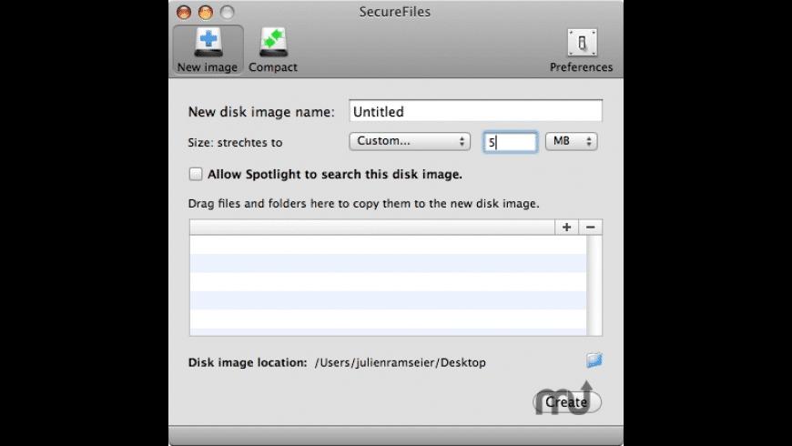 SecureFiles for Mac - review, screenshots