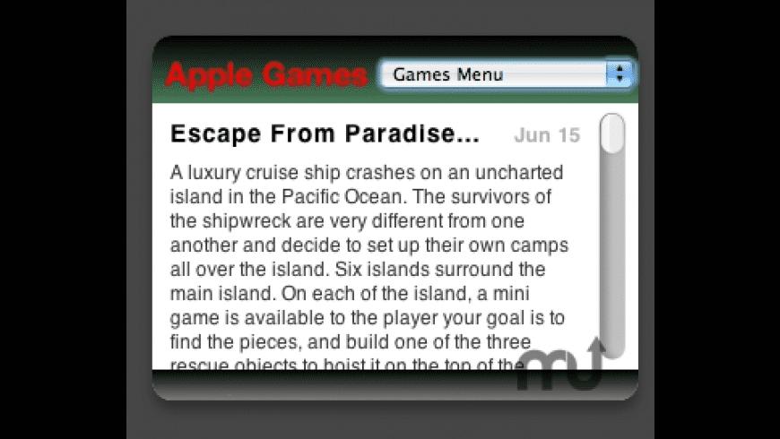 Apple Games for Mac - review, screenshots