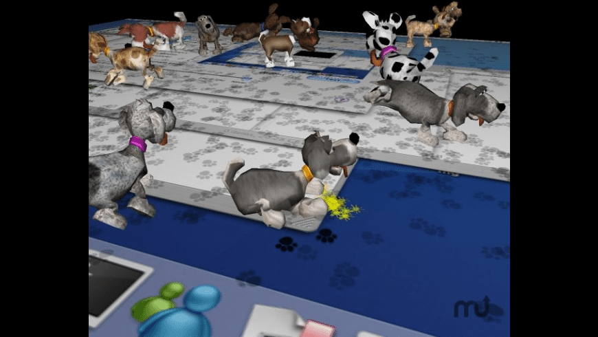 3D Desktop Dogs Screensaver for Mac - review, screenshots