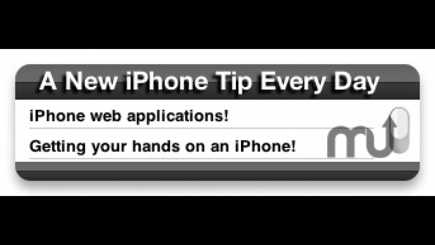 iPhone Tip for Mac - review, screenshots