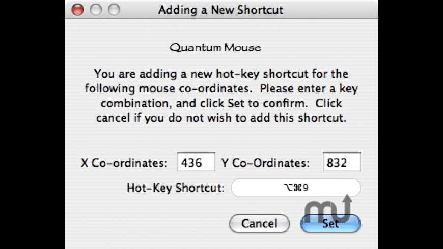 Quantum Mouse for Mac - review, screenshots