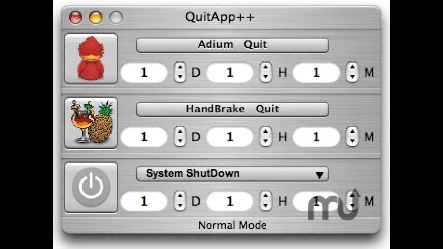 QuitApp++ for Mac - review, screenshots