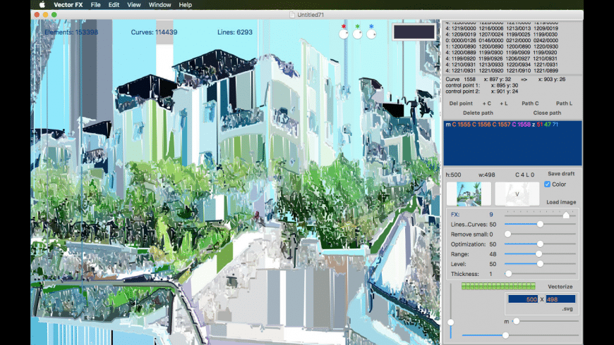 Vector FX for Mac - review, screenshots