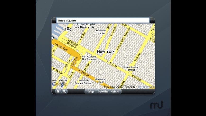 gMap for Mac - review, screenshots