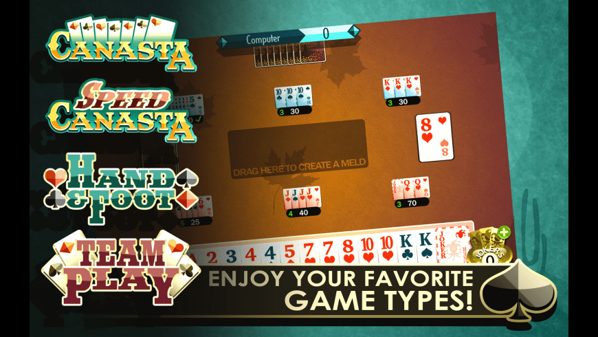 Canasta Royale for Mac - review, screenshots