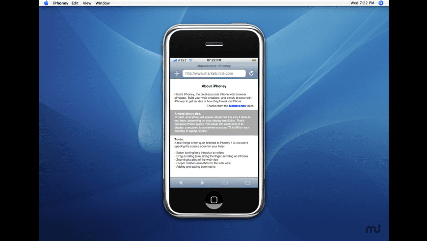 iPhoney for Mac - review, screenshots
