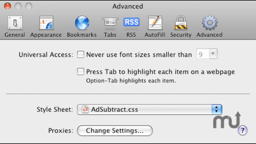 Ad Subtract for Mac - review, screenshots