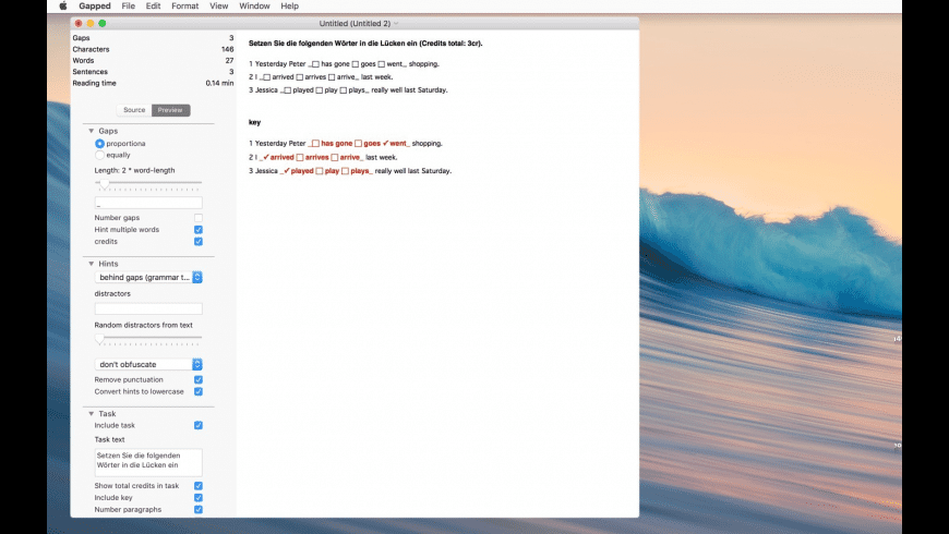 Gapped for Mac - review, screenshots