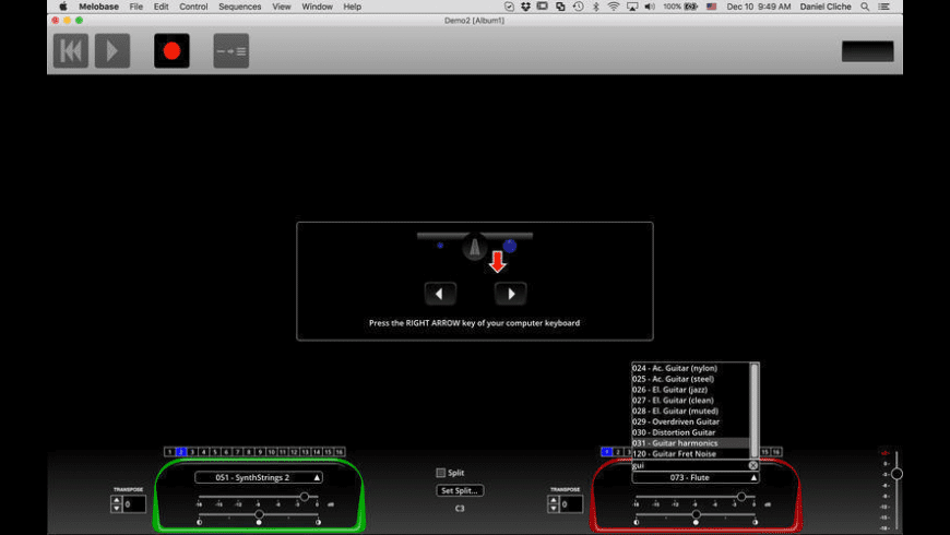 Melobase for Mac - review, screenshots
