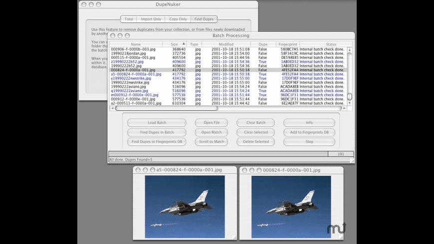 DupeNuker for Mac - review, screenshots