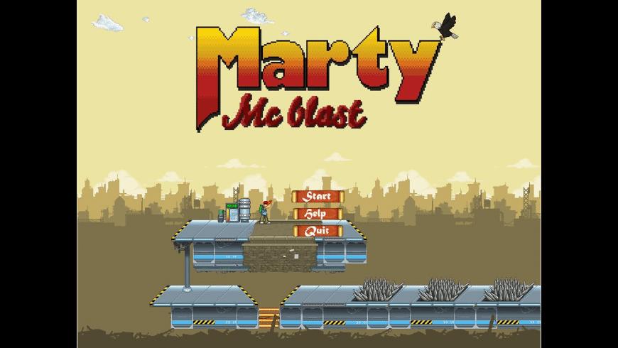 Marty McBlast for Mac - review, screenshots