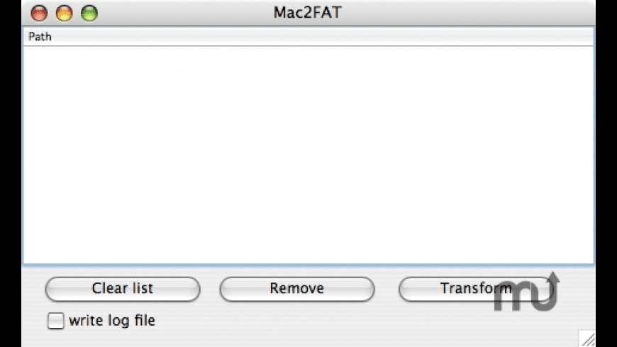 Mac2FAT for Mac - review, screenshots