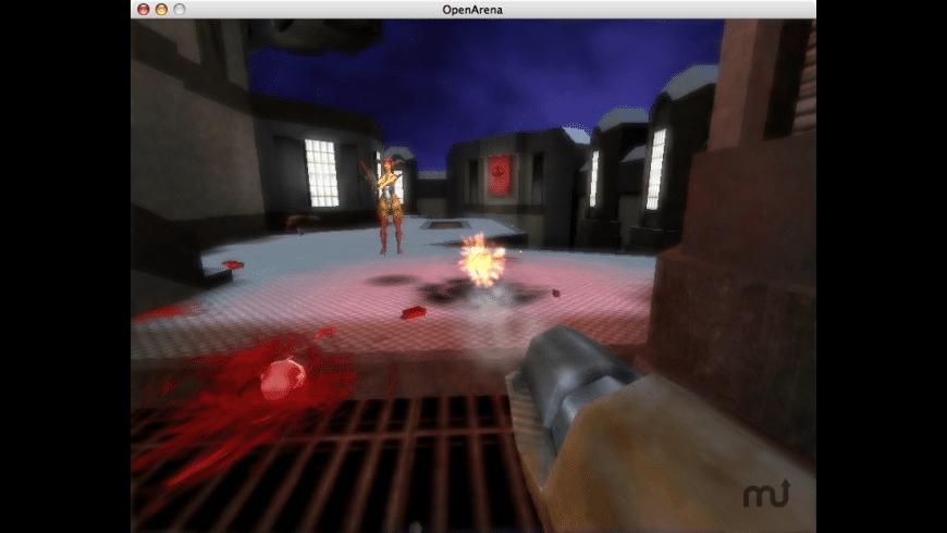 Open Arena for Mac - review, screenshots