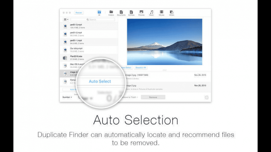 Duplicate Finder for Mac - review, screenshots