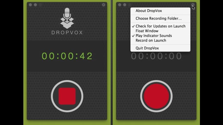 DropVox for Mac - review, screenshots
