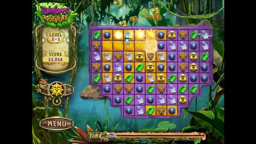 Rainforest Adventure for Mac - review, screenshots