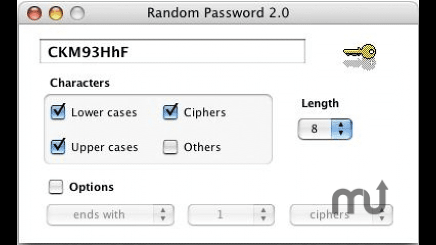 RandomPassword for Mac - review, screenshots